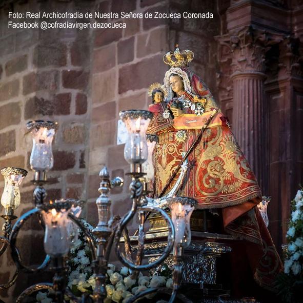 Ntra. Sra. de Zocueca  Foto: Facebook @cofradiavirgen.dezocueca